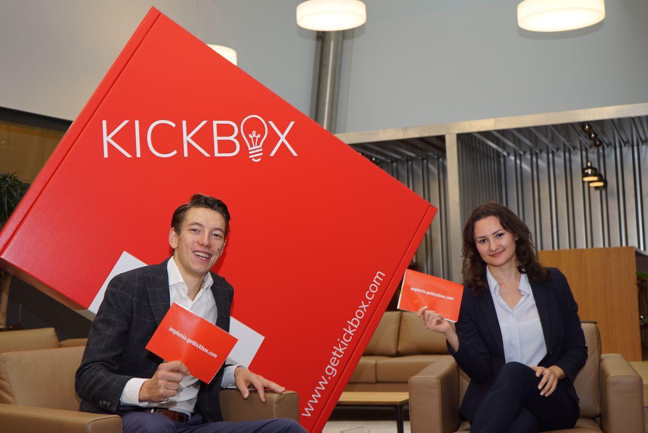Unsere neuen Innovation-Manager Karel vanEechoud und Diana Fischer